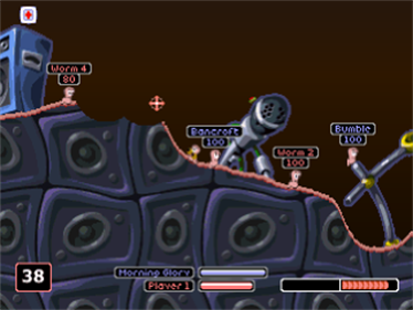 Worms World Party - Screenshot - Gameplay