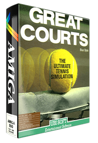 Great Courts - Box - 3D