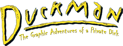 Duckman: The Graphic Adventures of a Private Dick - Clear Logo