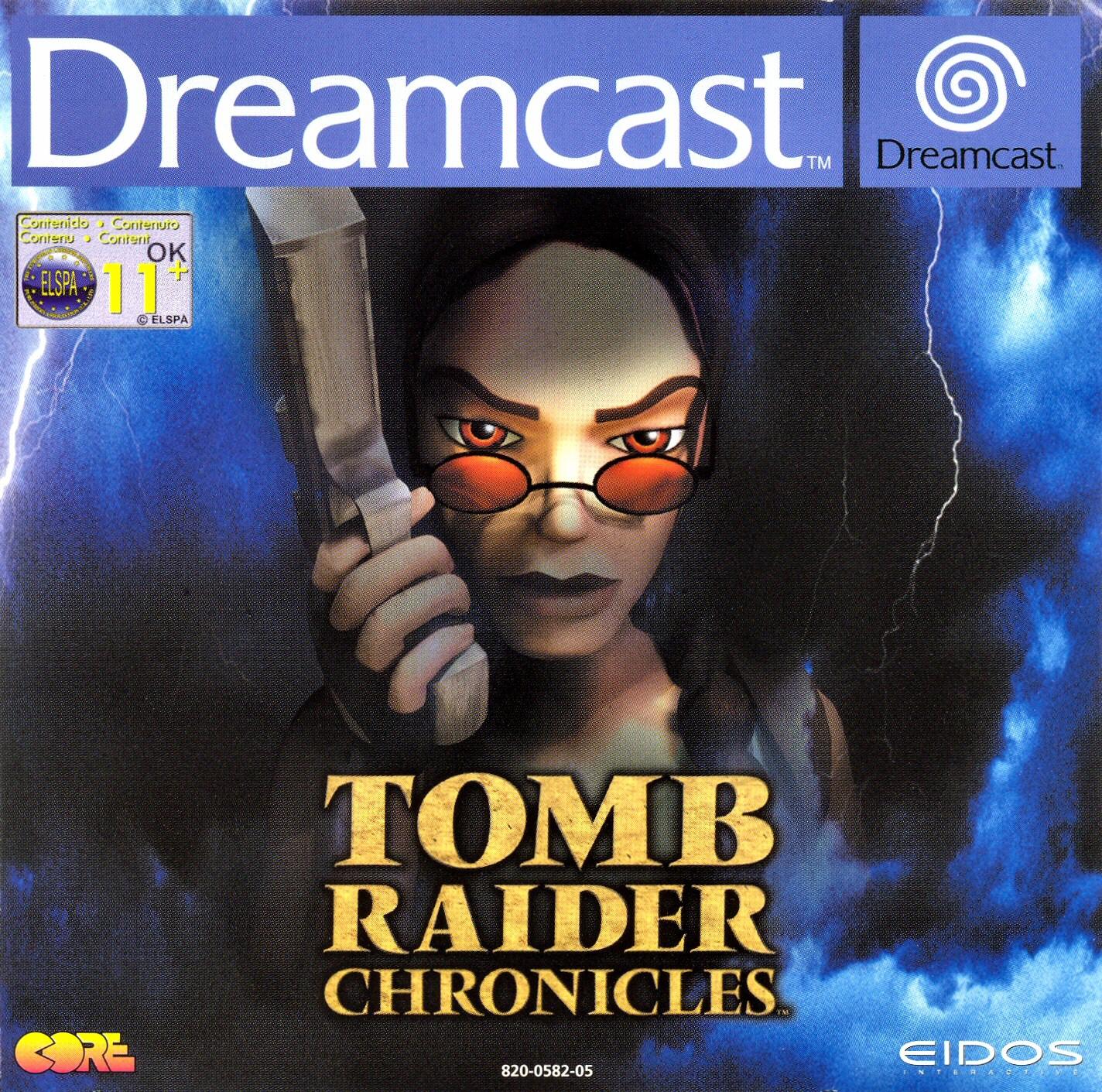 Tomb Raider Chronicles Sony Playstation