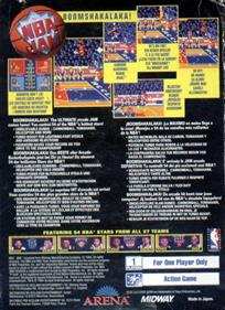 NBA Jam - Box - Back