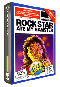 Rock Star Ate My Hamster - Box - 3D