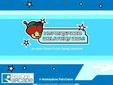 Hyperspace Delivery Boy! - Screenshot - Game Title