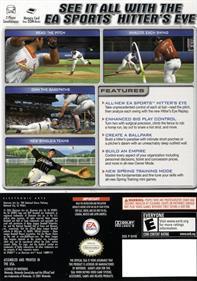 MVP Baseball 2005 - Box - Back