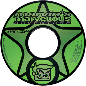 Marvin's Marvellous Adventure - Disc