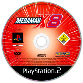 Mega Man X8 - Disc
