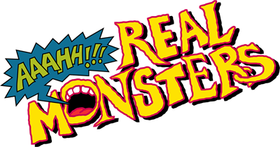 AAAHH!!! Real Monsters - Clear Logo