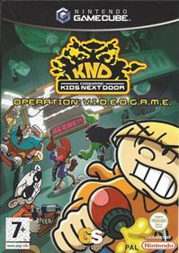Codename: Kids Next Door: Operation: V.I.D.E.O.G.A.M.E. - Box - Front