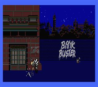 Bank Buster - Screenshot - Game Title