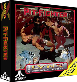 Pit-Fighter - Box - 3D