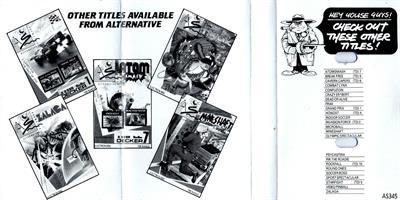 Bug Eyes II - Fanart - Box - Back