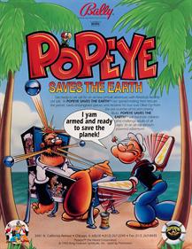 Popeye saves the Earth