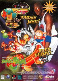 Space Jam - Advertisement Flyer - Front