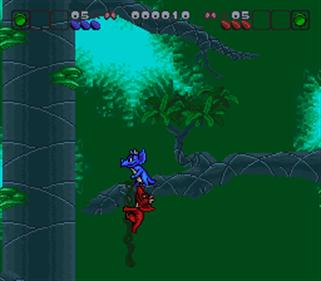 Bronkie the Bronchiasaurus - Screenshot - Gameplay
