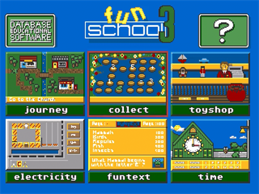 Fun School 3: For 5 to 7 Year Olds - Screenshot - Game Title