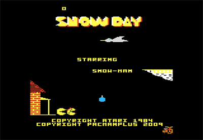 Snow Day - Screenshot - Game Title