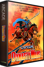 Dynasty Wars - Box - 3D