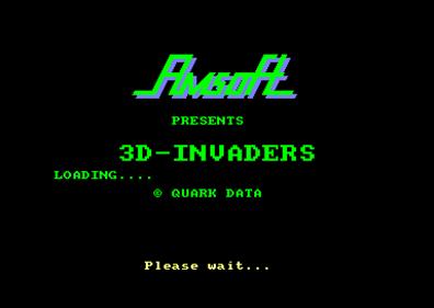 3D Invaders - Screenshot - Game Title