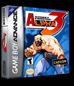Street Fighter Alpha 3 - Box - 3D