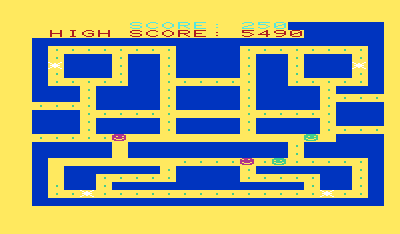 Chomper Man - Screenshot - Game Over