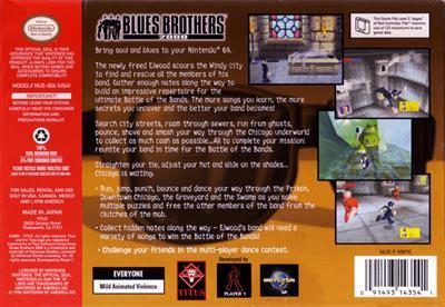 Blues Brothers 2000 - Box - Back