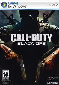 Call of Duty: Black Ops - Fanart - Box - Front