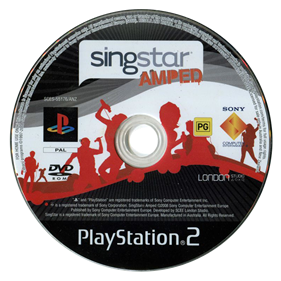 Singstar: Amped - Disc