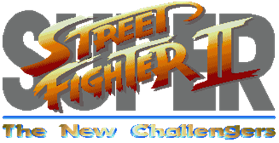 Super Street Fighter II: The New Challengers - Clear Logo