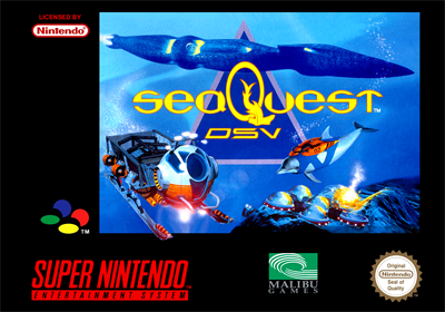 SeaQuest DSV - Box - Front