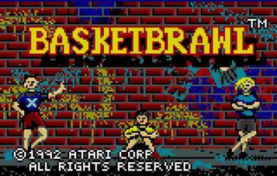 Basketbrawl - Screenshot - Game Title