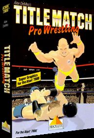 Title Match Pro Wrestling - Box - 3D
