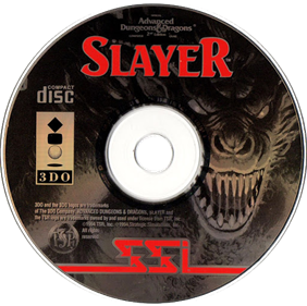 Advanced Dungeons & Dragons: Slayer - Disc