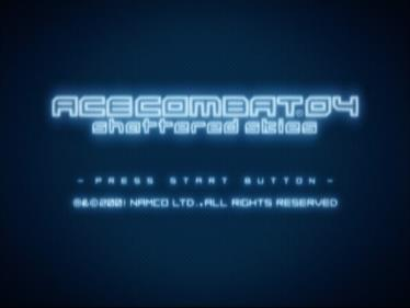 Ace Combat 04: Shattered Skies - Screenshot - Game Title