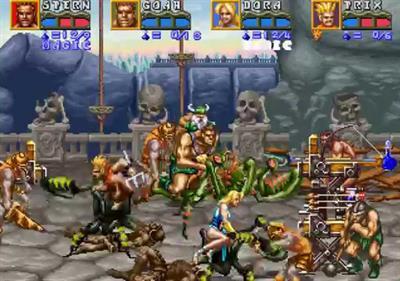 Golden Axe: The Revenge of Death Adder - Screenshot - Gameplay