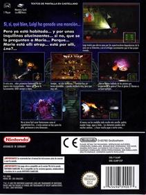 Luigi's Mansion - Box - Back