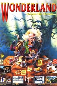 Wonderland - Advertisement Flyer - Front
