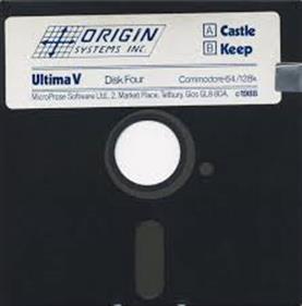 Ultima V: Warriors of Destiny - Disc