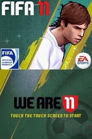 FIFA Soccer 11 - Screenshot - Game Title