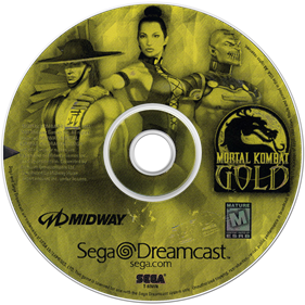 Mortal Kombat Gold - Disc