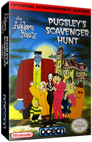 The Addams Family: Pugsley's Scavenger Hunt - Box - 3D