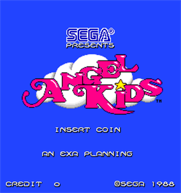 Angel Kids - Screenshot - Game Title