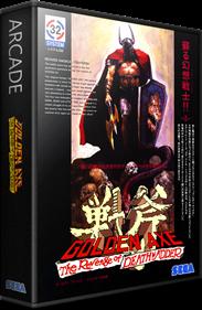 Golden Axe: The Revenge of Death Adder - Box - 3D