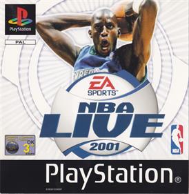 NBA Live 2001 - Box - Front