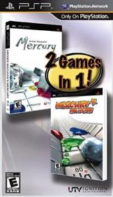 2 Games in 1! Archer Maclean's Mercury / Mercury Meltdown