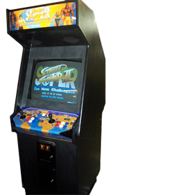 Super Street Fighter II: The New Challengers - Arcade - Cabinet