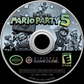 Mario Party 5 - Disc