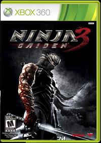 Ninja Gaiden 3 - Box - Front - Reconstructed