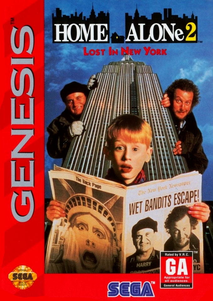 Home Alone  Lost In New York Box Front