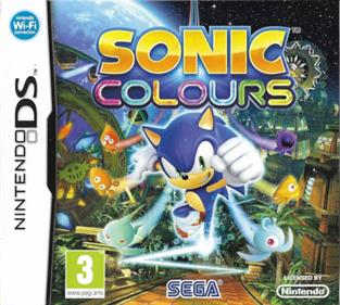Sonic Colors - Box - Front