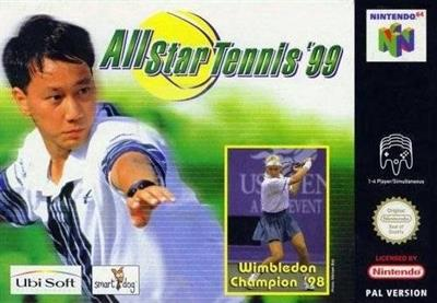 All Star Tennis 99 - Box - Front